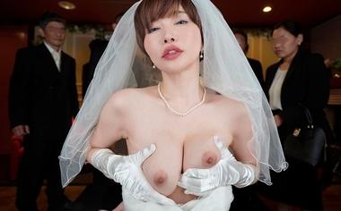 【VR】痴女光線~史上最悪の結婚式~【里美ゆりあ】#8