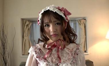 【完全着衣】中年オヤジとゴシック(ゴスロリ)美少女【永瀬ゆい】#1