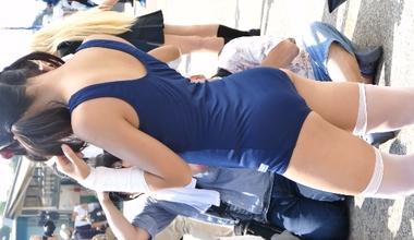 【ワンダーフェスティバル】スクール水着コスプレでセクシーショットを披露する東雲りぃり【WF】#2