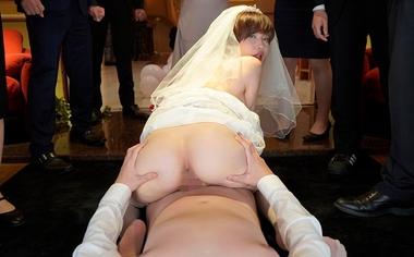 【VR】痴女光線~史上最悪の結婚式~【里美ゆりあ】#9