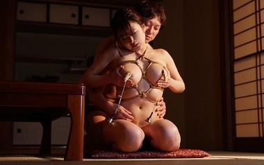 【緊縛旅館】緊縛接待で変態客の玩具となる若女将の詩月まどか#9