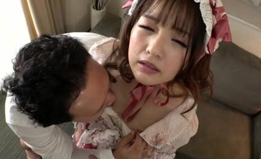 【完全着衣】中年オヤジとゴシック(ゴスロリ)美少女【永瀬ゆい】#4