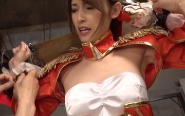 【Fate】拘束されるFGOの赤セイバーネロ・クラウディウスコスプレをした森沢かな(飯岡かなこ)【アニコス】