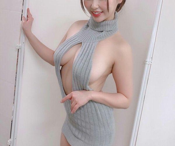 流行りの「童貞を殺すセーター」のエロ画像 part10