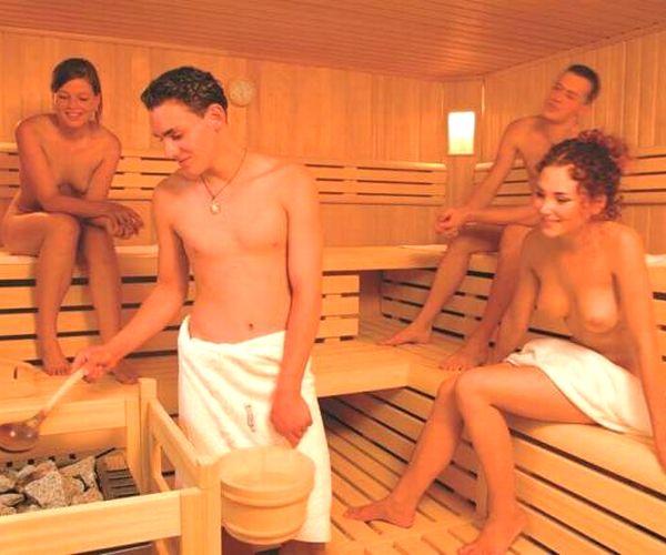 【画像】フィンランドの混浴サウナ、エッチすぎるwww