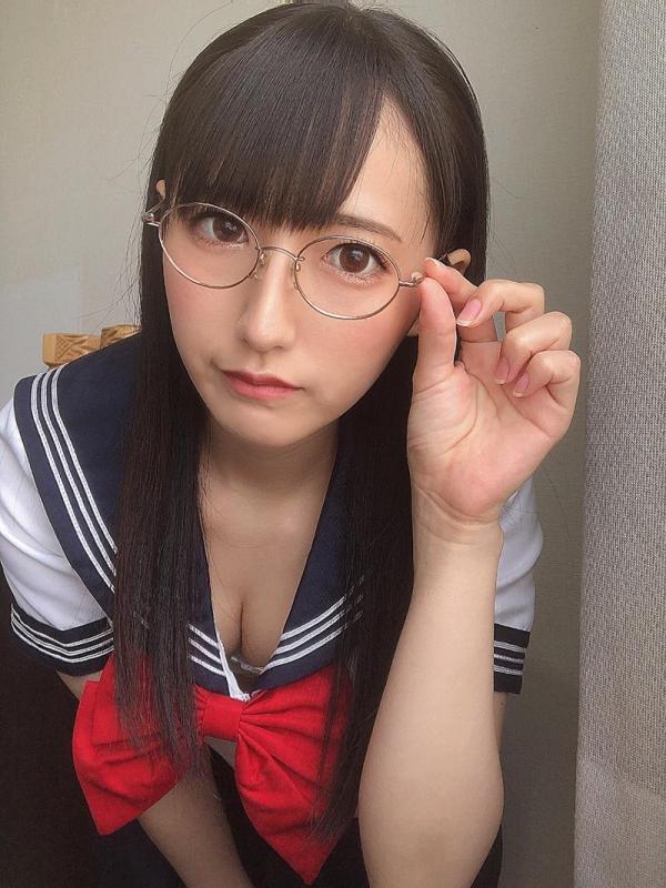 黒髪美少女 河奈亜依さん、制服姿で性交する。画像50枚のa02枚目