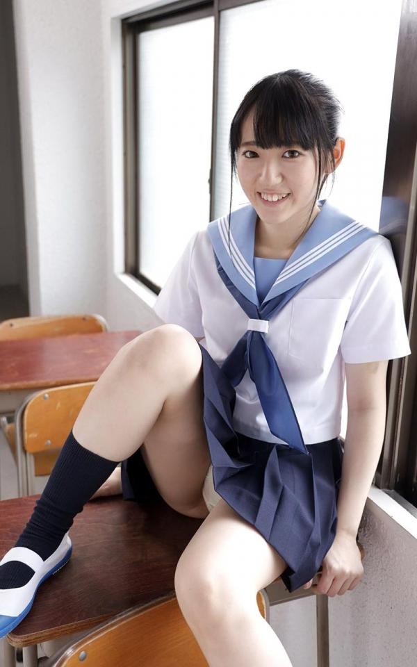 黒髪美少女 河奈亜依さん、制服姿で性交する。画像50枚の2