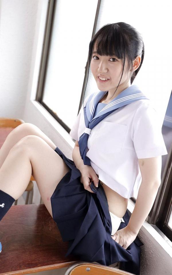黒髪美少女 河奈亜依さん、制服姿で性交する。画像50枚のb06枚目