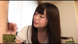 【処女 フェラ手コキ】貧乳の処女美少女の、フェラ手コキプレイがエロい!【エロ動画】
