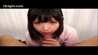 スケベな制服姿のJK女子校生の、フェラ主観ごっくん無料エロ動画。【JK、女子校生動画】