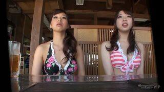 スレンダーな水着姿のお姉さん素人の、エステマッサージローション無料H動画。【お姉さん、素人動画】