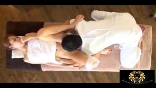 【エロ動画】パイパンでボインの奥様人妻、愛乃なみのエステマッサージ騎乗位プレイエロ動画。