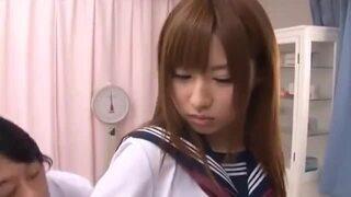 巨乳の妹JKの、騎乗位3Pフェラ無料エロ動画。【妹、JK、ギャル、美少女、女子校生動画】