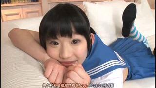 【巨根】スレンダーなロリの美少女、姫川ゆうなの種付けフェラ3Pエロ動画!【中出し動画】