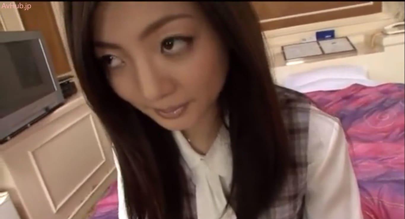 【宮下リカ】モデルスタイルの美人OLとラブホテルハメ撮り!制服姿のパンスト破いて敏感な従順マンマンをイカセピストン