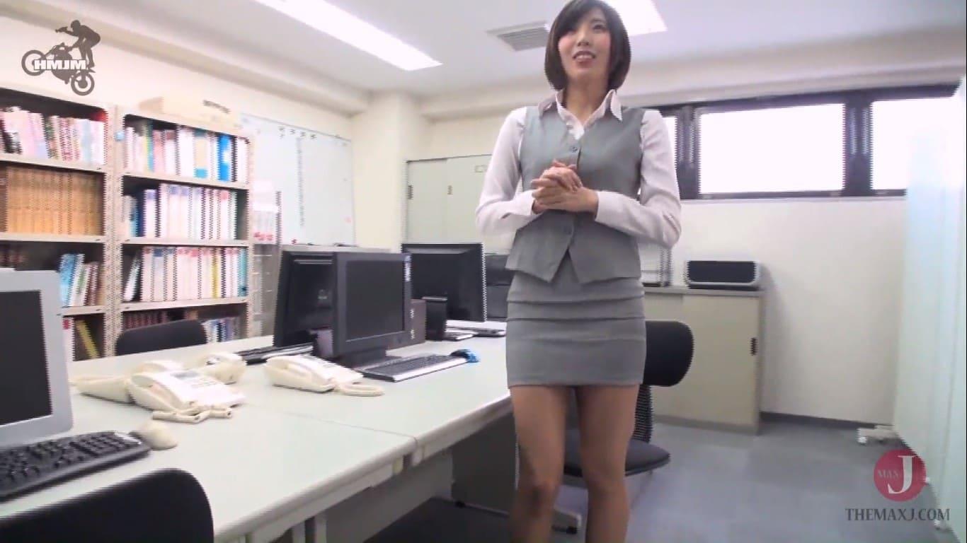 【唯川みさき】セクハラ社長の新人OL性奴隷実技試験!有能なOLは秘書に昇格して社長の傍で射精処理女としての肉便器業務に抜擢