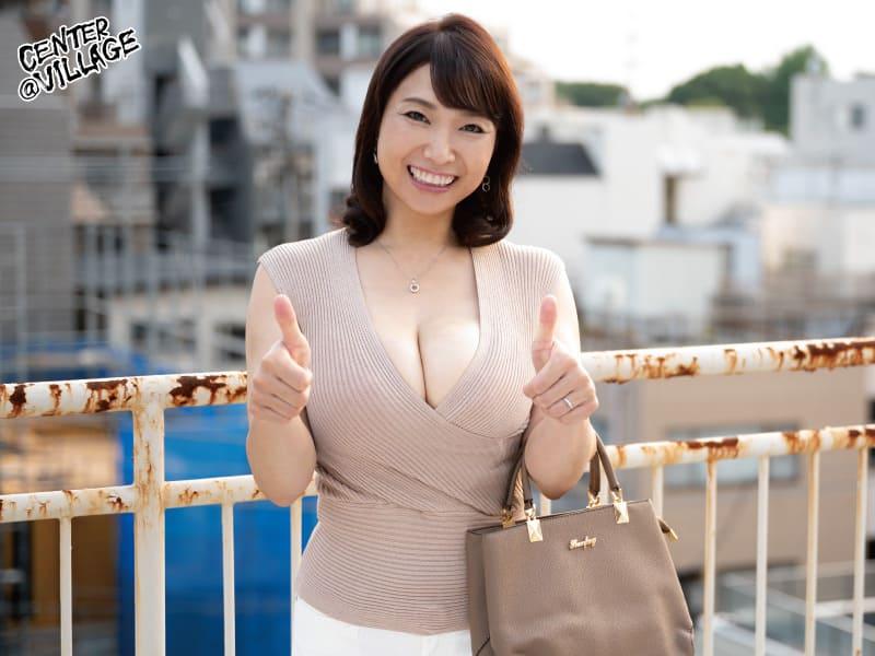 【時田こずえ】爆乳美熟女がファンのお宅にアポなし訪問!DVDを購入したら御本人が配達に来て中出しセックス出来ちゃった