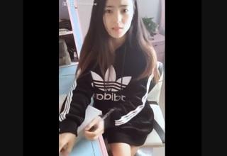 【無修正】激カワ女子学生が家庭教師にチンポ生挿入されるハメ撮り映像