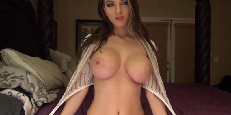 ピンク乳首が美しい偽乳爆乳外国人美女の個人撮影映像がエロ良い!1-01