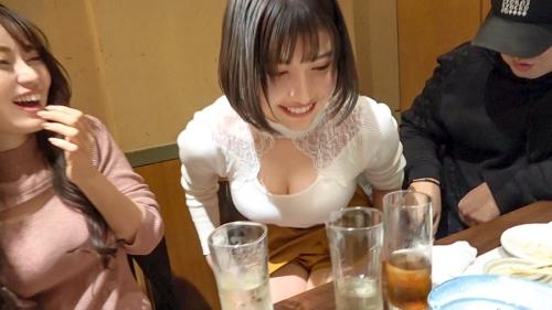 朝までハシゴ酒 66 in浜松町駅周辺 マロン 22歳 ラウンジ嬢 / ハヅキ 23歳 ラウンジ嬢 300MIUM-665(夏希まろん,若宮はずき) 05