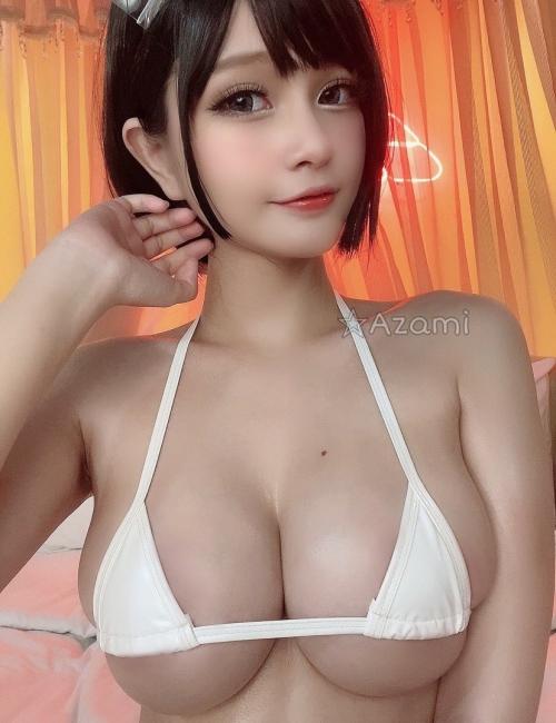 Azami 中国 巨乳コスプレイヤー 10
