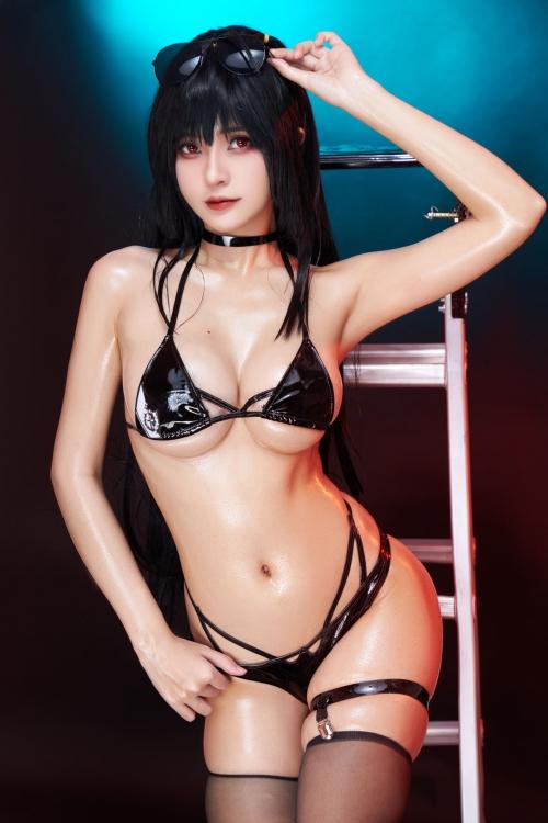 Azami 中国 巨乳コスプレイヤー 17