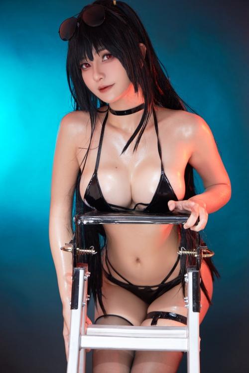 Azami 中国 巨乳コスプレイヤー 19