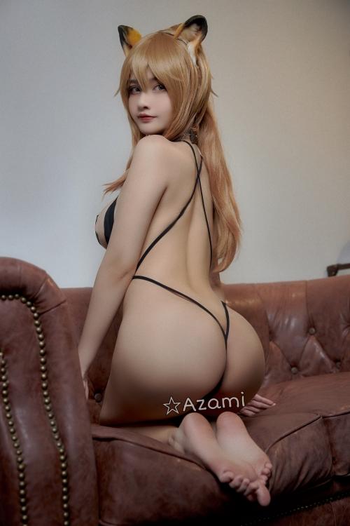 Azami 中国 巨乳コスプレイヤー 34