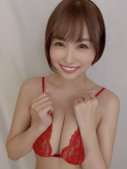 河合あすな AV女優 Hカップのおっぱいグラビア 31