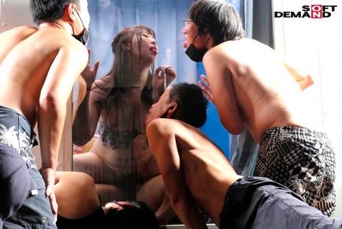 真夏の逆転マジックミラー号「 海水浴中の素人ビキニ娘の大胆SEXをナマで見たくないですか?」美巨乳限定ナンパGETスペシャル!!変態男達の前で見られているとは知らずに大胆ナマSEXを披露! パート6 (田中ねね、塩見彩 他) 07