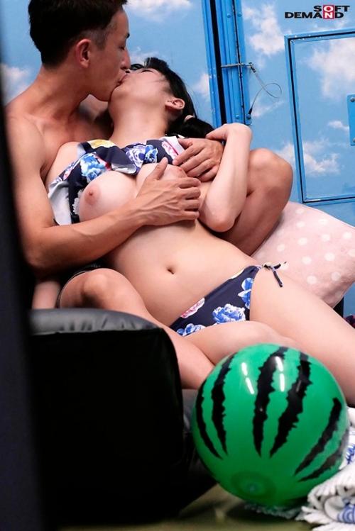 真夏の逆転マジックミラー号「 海水浴中の素人ビキニ娘の大胆SEXをナマで見たくないですか?」美巨乳限定ナンパGETスペシャル!!変態男達の前で見られているとは知らずに大胆ナマSEXを披露! パート6 (田中ねね、塩見彩 他) 10