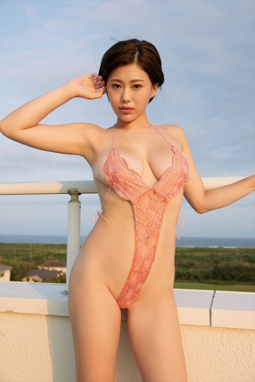 V字水着 (Sling Bikini) 02