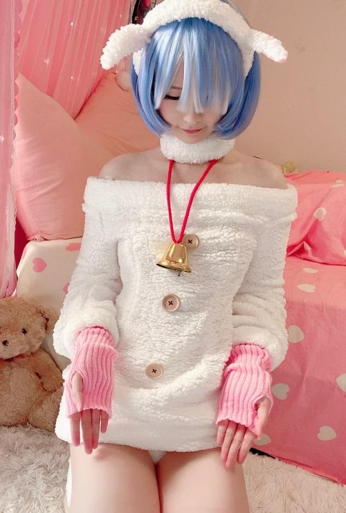 Misa呆呆 『Re:ゼロ』レム コスプレ 03