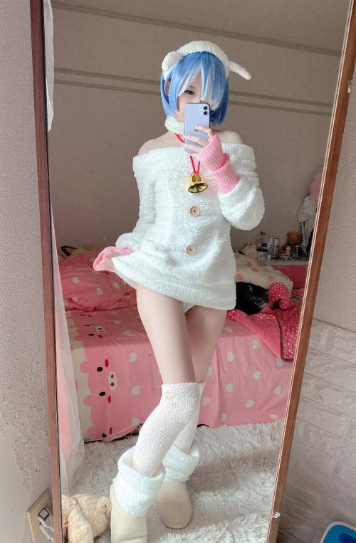 Misa呆呆 『Re:ゼロ』レム コスプレ 06