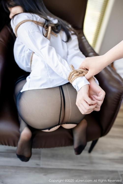 男が妄想する「えっちな秘書」XiuRen 糯美子Mini  23