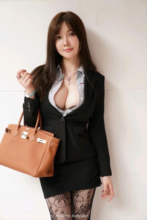 男が妄想する「えっちな秘書」XiuRen 糯美子Mini  55