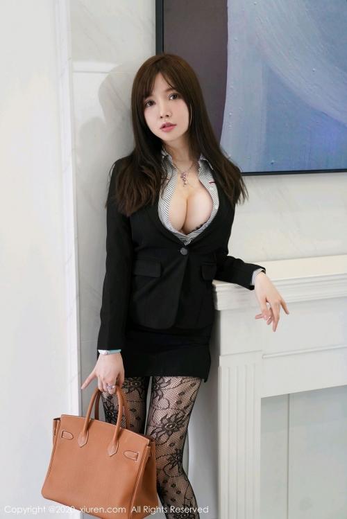 男が妄想する「えっちな秘書」XiuRen 糯美子Mini  56