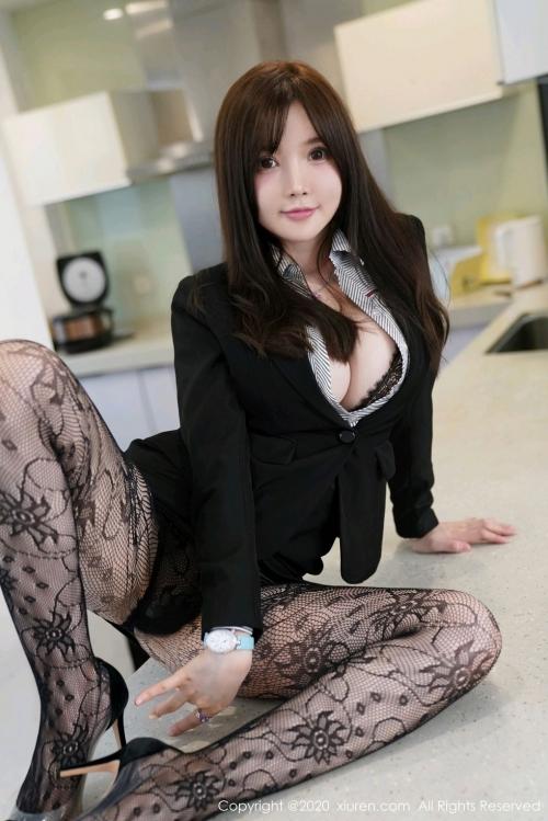 男が妄想する「えっちな秘書」XiuRen 糯美子Mini  59