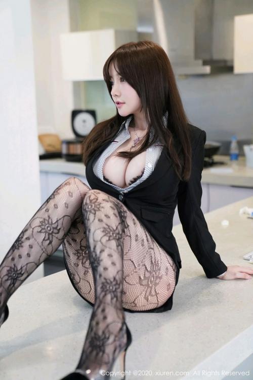 男が妄想する「えっちな秘書」XiuRen 糯美子Mini  61