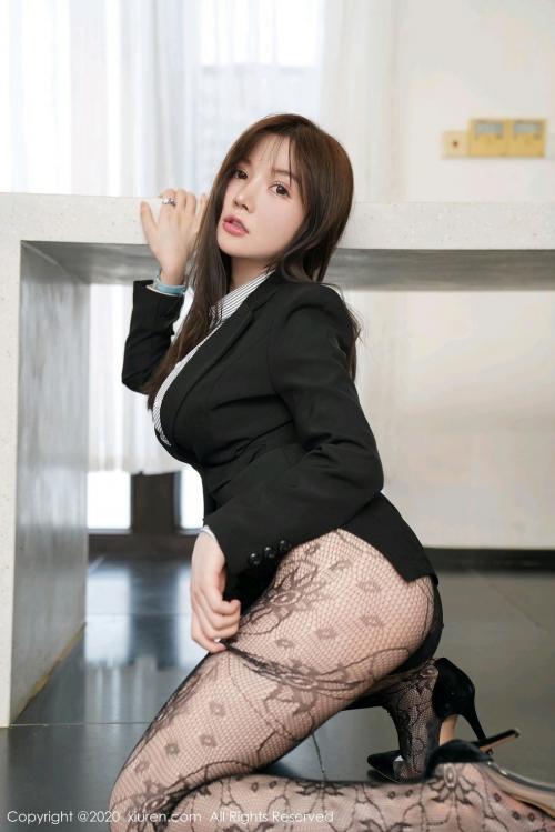 男が妄想する「えっちな秘書」XiuRen 糯美子Mini  66