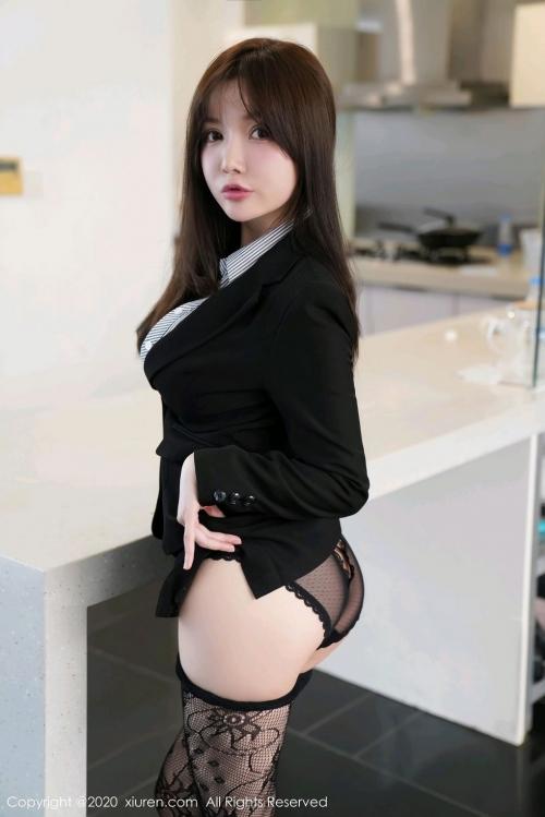 男が妄想する「えっちな秘書」XiuRen 糯美子Mini  70