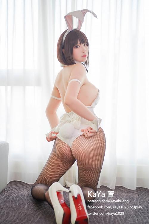バニーガール コスプレ 34