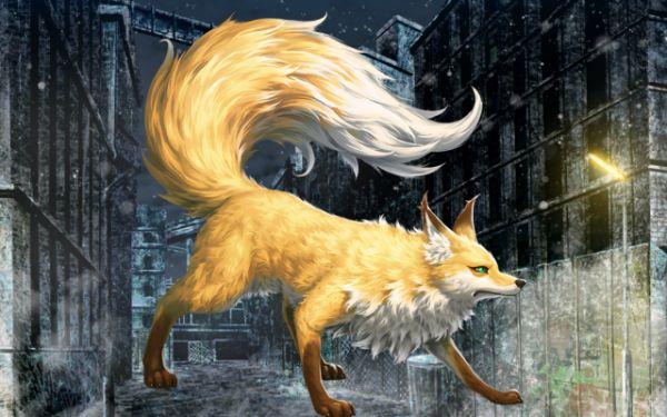 ブリジット・妖狐モード