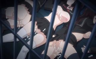監禁レ〇プ凌辱で種付けされる制服少女!地獄のような拷問調教プレイでスカ〇ロ三昧!