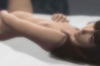 「あんっ‥だめぇ‥」黒髪パッツンのちっぱい娘が自慰行為で性的快感に浸りまくり!