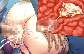 「んひぃいいっ!!」子宮をザーメン漬けにされた女くノ一が快楽堕ち!