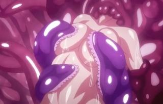 ウニョウニョしている触覚器に捕まったJ●が養分化されて理性崩壊!