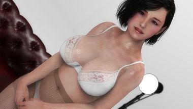 【3Dエロアニメ】人妻寝取り動画配信 追い詰められた巨乳おっぱいの社長夫人!【iLand】