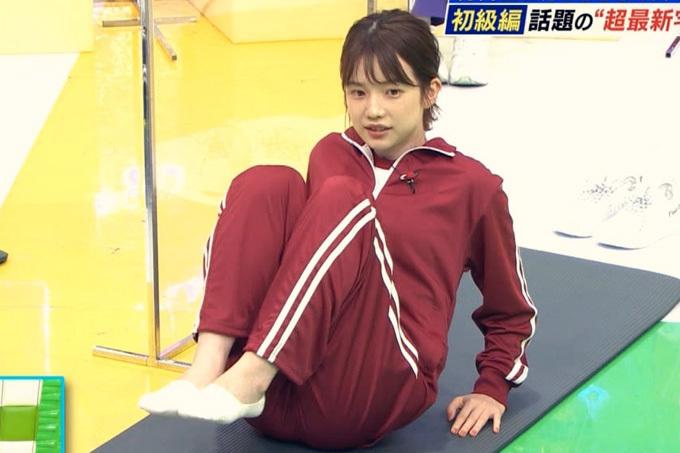 弘中綾香 ジャージ姿がエロ可愛い。