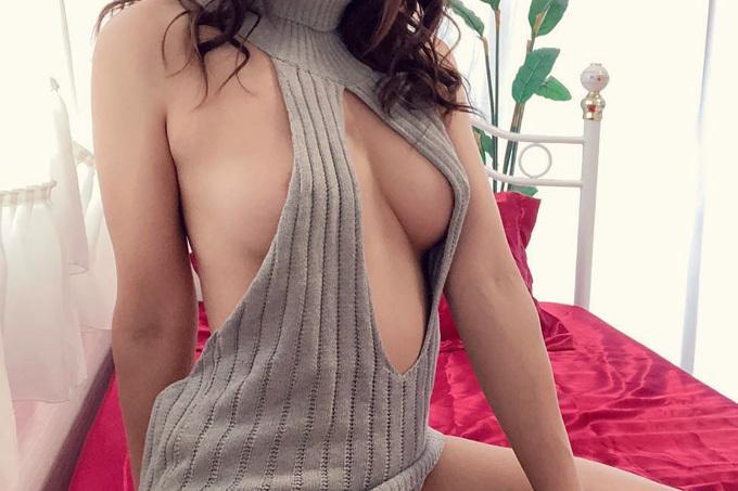 まだまだ流行りの「童貞を殺すセーター」エロ画像